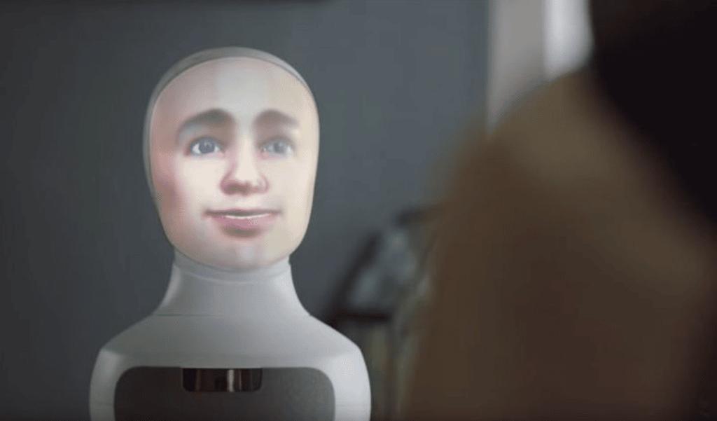 AI-robot Sigmund van LTP