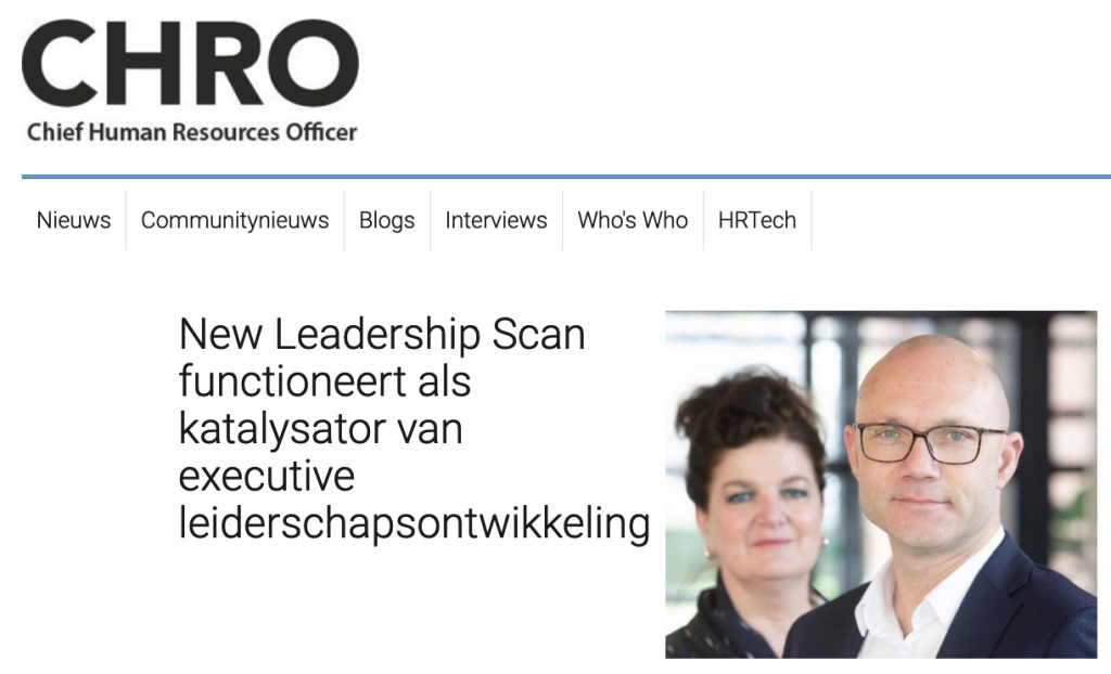 CHRO.nl New Leadership Scan LTP Executive Services
