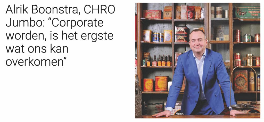 Interview met CHRO van Jumbo